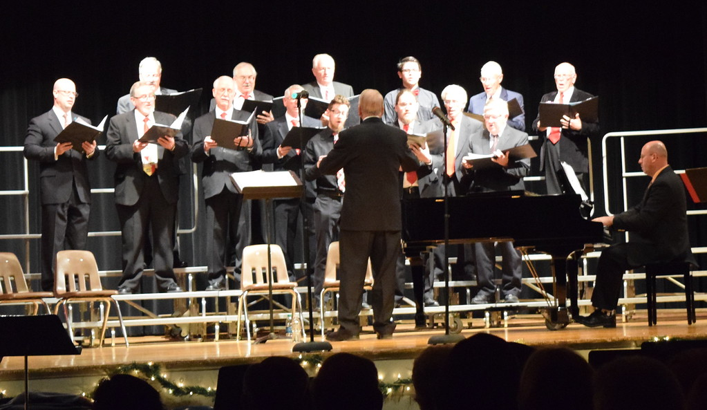 """. Centennial State Chorus performs \""""Birthday of a King,\"""" under the direction of Dr. Curtis Kimball, at the group\'s \""""Christmas Celebration!\"""" Sunday, Dec. 3, 2017."""