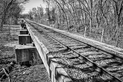 RR Tracks - Creek Crossing