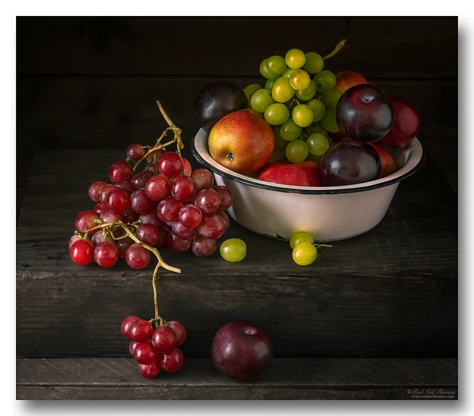 A Bowl Of Fruit