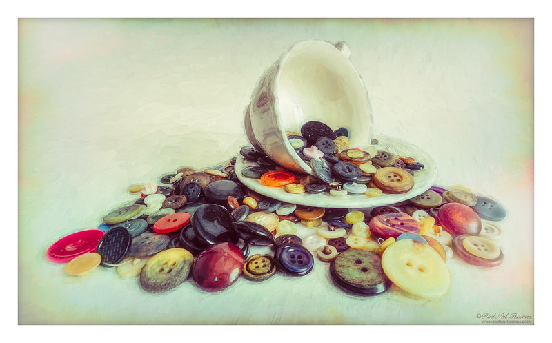 A Cup Of Buttons