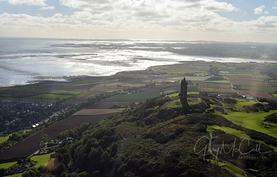 Scrabo Tower and Strangford Lough, Co Down