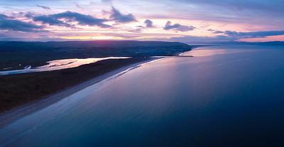 Portstewart Aerial Sunset