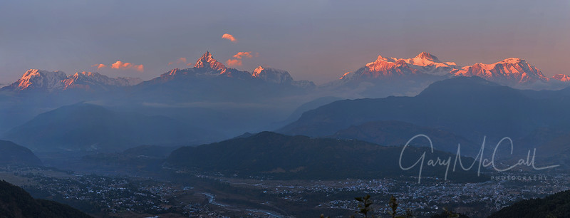 Annapurna and Machepuchre, Nepal