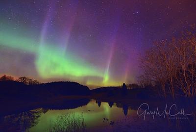 Aurora, East of Oslo, Norway