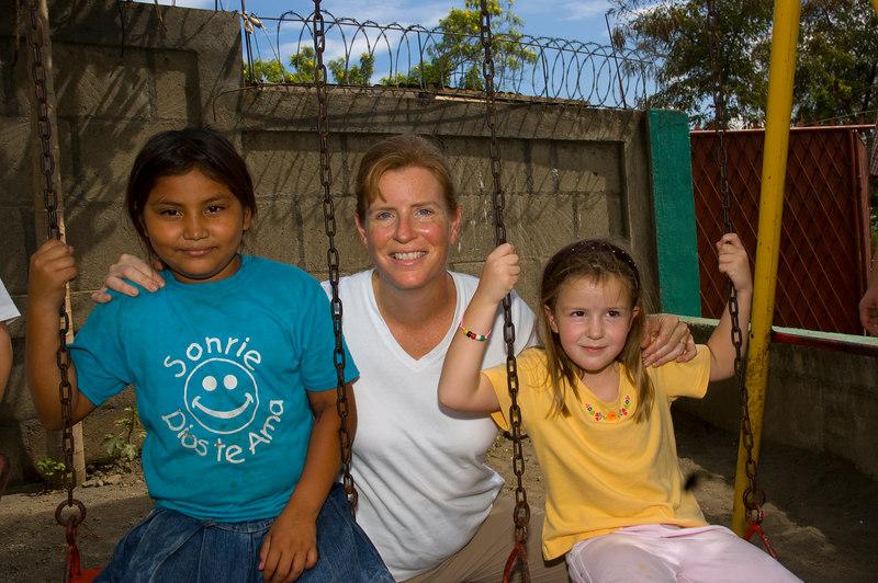 Nicaragua Mission November 2006<br /> School of Hope in the dump<br /> Julia