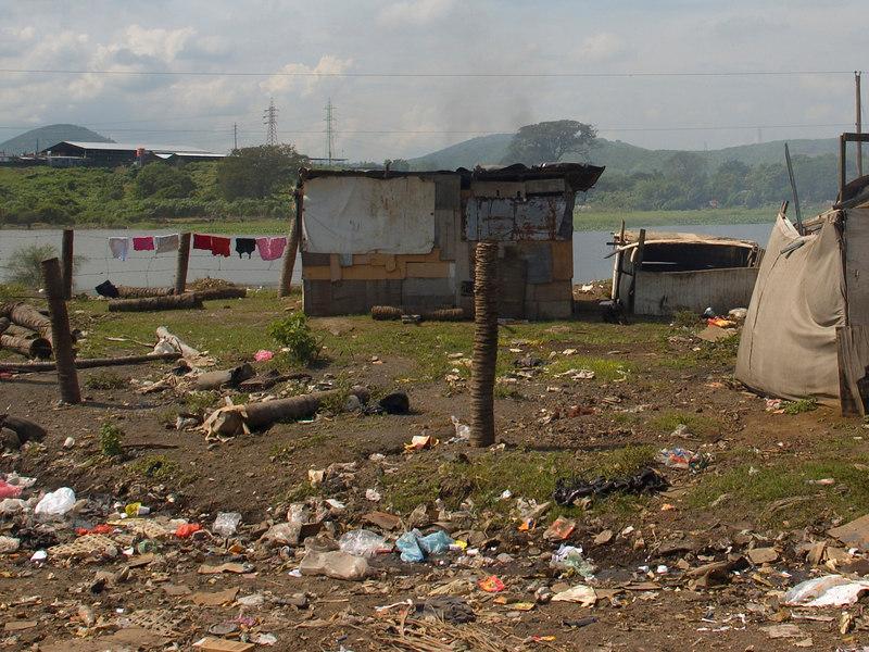 "Nicaragua Mission November 2006<br /> La Chureca ""The Dump""<br /> House with a view."