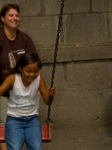 Nicaragua Mission November 2006<br /> School of Hope in the dump<br /> We played with the kids on recess.  We had as much fun as they did!