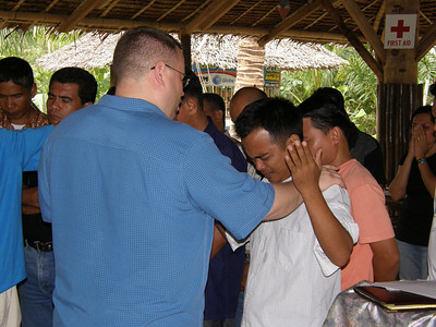 Anointing the Pastors for service