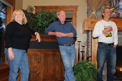 Cyndi, Chris, Mike