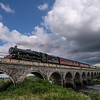 Leander 45690 Jubilee Class Locomotive, Malltraeth