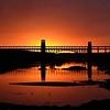 Britannia Bridge Sunset