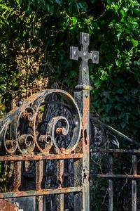 Glendalough Graveyard Entrance