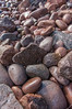 Beach rocks at Black Rock Beach in Cape Breton Highlands National park between Ingonish and Neil's Harbour