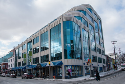 Spring Garden Road shopping area in downtown Halifax