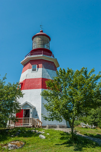 A replica of the Seal Island light is operated as a museum  in the South Shore community of Barrington. A lighthouse still exists on Seal Island, the most southerly point in Nova Scotia, but the fresnel lens and top part of the lighthouse was moved to Barrington in 1979.