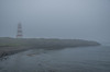 The basalt rock shoreline of Brier Island at the end of Digby Neck make a great place for rock hounding no matter what the weather . . . sun, rain or fog.