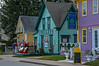 Street scenes from the Father Christmas Festival in Mahone Bay