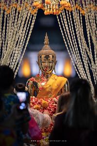 พระพุทธกำเนิดกาสาวพัตร์ งานเถลิงศกสุขสันต์ มหาสงกรานต์ ตำนานไทย พระลานพระราชวังดุสิตและสนามเสือป่า