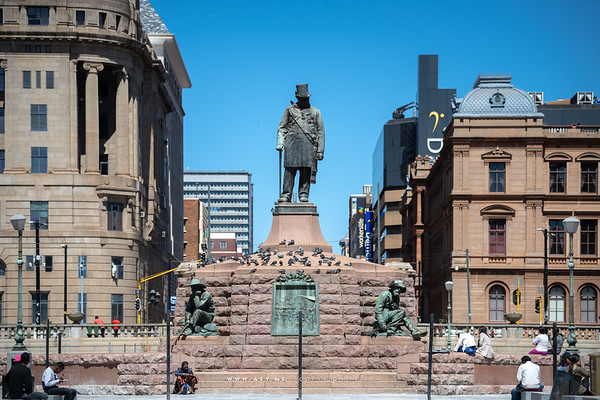 Paul Kruger Statue, Church Square
