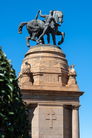 Delville Wood Memorial, Union Buildings