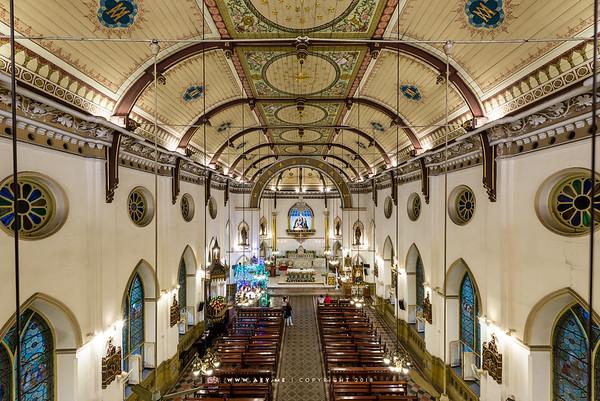 Christmas Eve at Holy Rosary Church, Bangkok ลูกประคำ (วัดกาลหว่าร์)