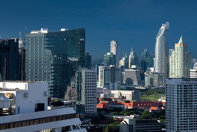 Bangkok view from Yao Rooftop Bar