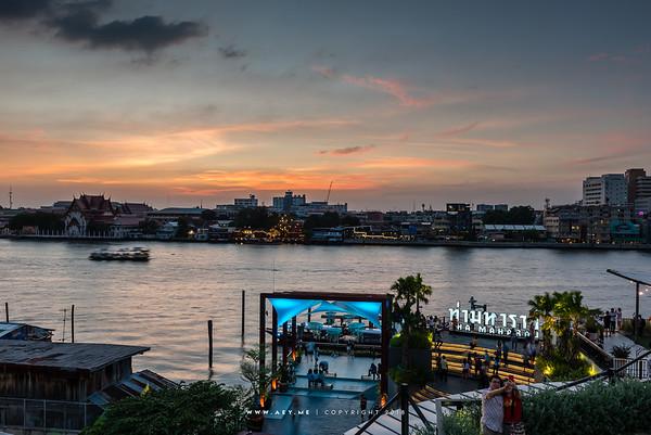 Tha Maharaj & Chao Phraya River