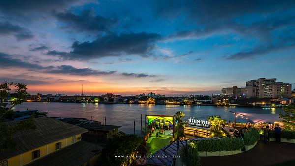 Tha Maharaj by Chao Phraya River