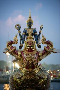 Royal Barge Narai Song Suban H.M. King Rama IX