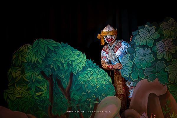 "Hanuman, Khon performance ""Hanuman Presents the Ring"""