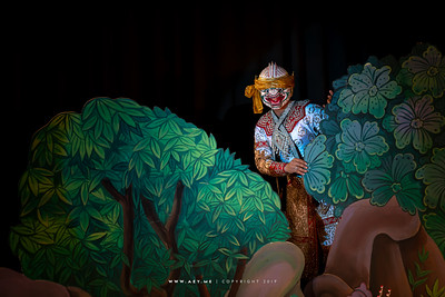 "Hanuman, Khon performance ""Hanuman Presents the Ring"""