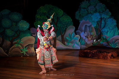 "Ravana, Khon performance ""Hanuman Presents the Ring"""