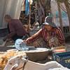 Woman preparing food, Siem Reap, Cambodia