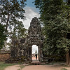 The entrance gate of Banteay Kdei, Angkor, Siem Reap, Cambodia