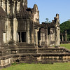 View of temple, Krong Siem Reap, Siem Reap, Cambodia