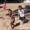 Portrait of happy children playing, Siem Reap, Cambodia