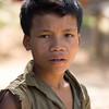 Portrait of local adolescent boy, Ban Houy Phalam, Laos