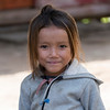 Portrait of local girl smiling, Sainyabuli Province, Laos