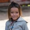 Portrait of local girl smiling, Sainyabuli Province, Laos