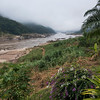 Scenic view of river, River Mekong, Laos