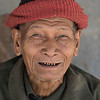 Portrait of senior man smiling, Laos