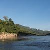 View of river, River Mekong, Sainyabuli Province, Laos