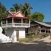 Small temple at roadside, Sainyabuli Province, Laos