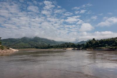 Clouds over the River Mekong, Sainyabuli Province, Laos