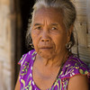 Portrait of senior woman, Ban Houy Phalam, Laos