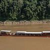 Tourboat in River Mekong, Luang Prabang, Laos