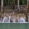 View of waterfall, Tad Sae Waterfall, Luang Prabang, Laos