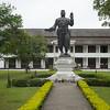 Statue of King Sisavang Vong at Royal Palace, Luang Prabang, Laos