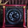 Gong in Wat Xieng Thong temple, Luang Prabang, Laos