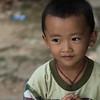 Close-up of a toddler boy, Luang Prabang, Laos